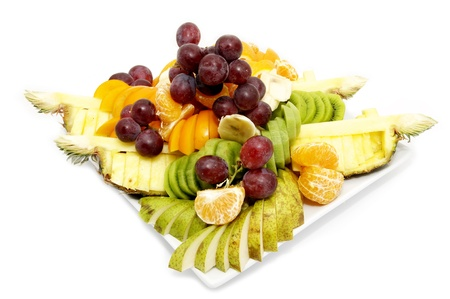 a plate of fruit photo