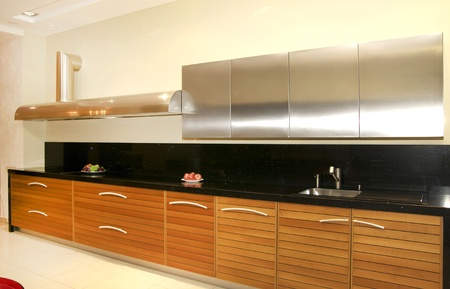 nice design a new kitchen in the house photo