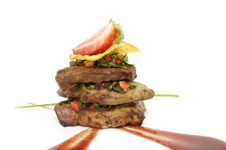 foie gras: goose liver