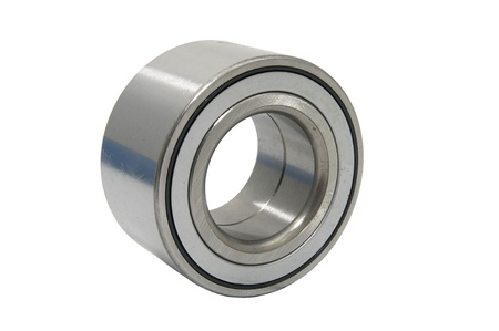 steel bearing to the vehicle on a white background photo