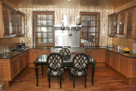 nice interior with furniture and kitchen appliances Stock Photo - 13538017