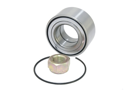 new bearing to the vehicle on a white background photo
