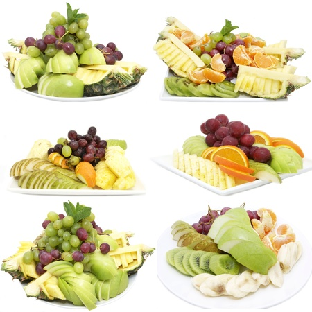 sliced juicy ripe fruit in a restaurant Stock Photo - 13829196