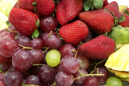 abstract fruit: de fondo de fruta abstracta Foto de archivo