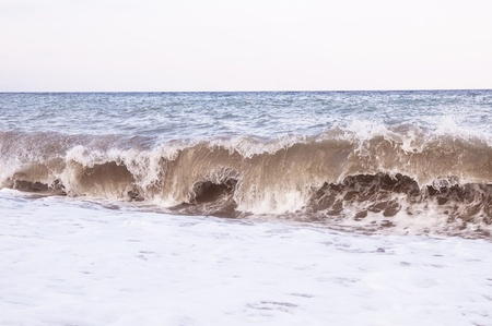 breaking wave: waves on the ocean of autumn