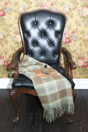 comfortable upholstered chair