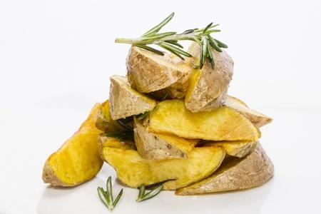 fried potatoes Stock Photo - 18404269