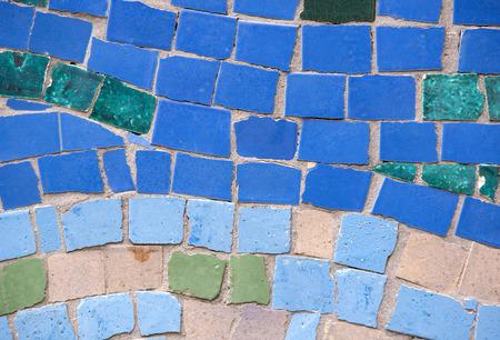 Kleur Veel Kleur : Achtergrond van mozaïek kleur veel items royalty vrije foto