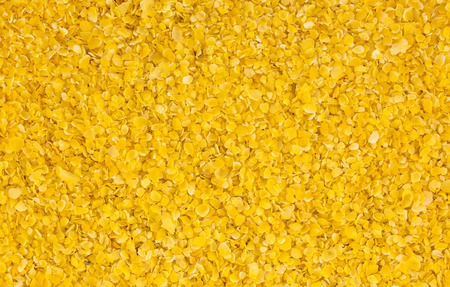 grits: background of yellow corn grits