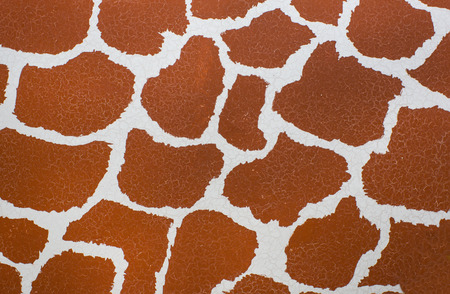 giraffe skin: giraffe skin texture print wallpaper wild seamless Stock Photo