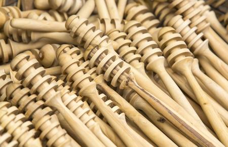 fluent: New wooden stick for honey beech wood