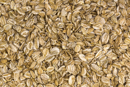 viands: background of oat flakes ingredient kernel native Stock Photo