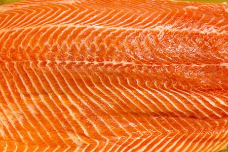 mea: Fresh salmon fillet mea