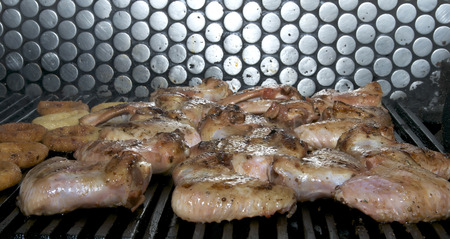 junk: sausage meat from beef grilled Ingredient Junk