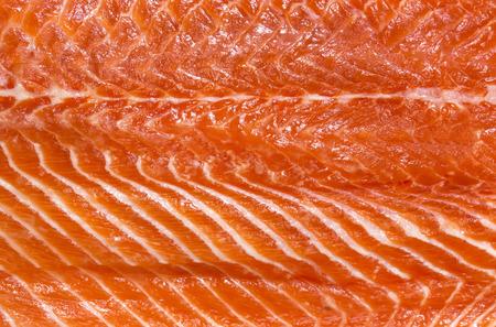 fresh taste: Fresh salmon fillet meat Taste Texture, Stock Photo