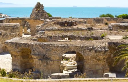 tunis: ruins of ancient Carthage Tunis Afrique