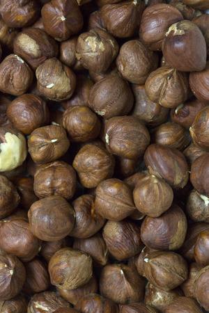 filbert: background filbert nuts close up shot
