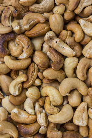 nutty: background cashew close-up shot Mixed Salted Nutty