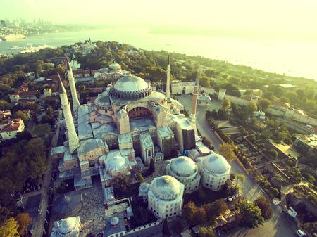 mohammed: Hagia Sophia birds-eye view