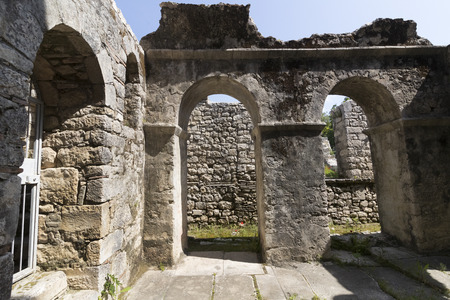 Church place of burial of St. Nicholas in Demre, Turkey Editorial