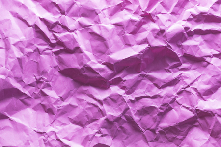 Background of colored crumpled paper shot close-up