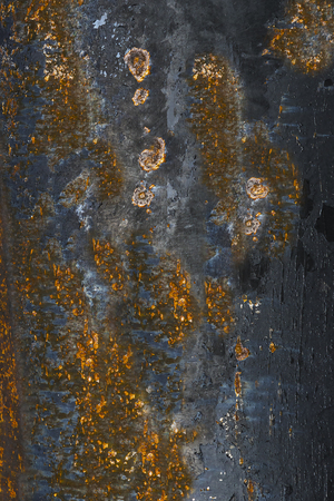 Rust old iron cracked paint colorful background
