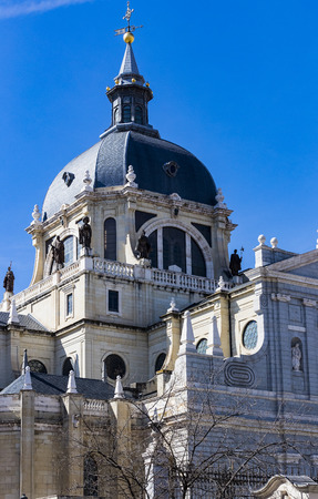 Elements of the architecture of Spain's capital city of Madrid.