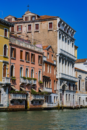 There are elements of the city of Venice in Italy. Standard-Bild