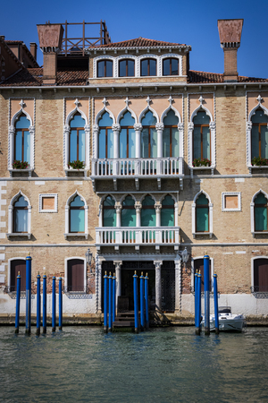 There are elements of the city of Venice in Italy. Stock Photo
