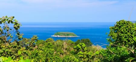 pu: Koh Pu Island From Karon Viewpoint, Phuket, Thailand