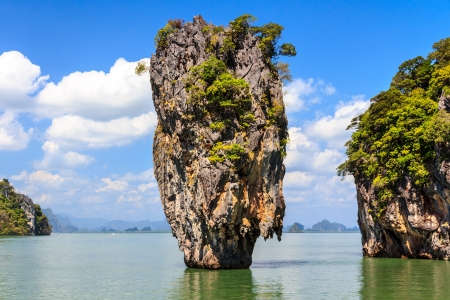 James Bond Island Ko Tapu In Phang Nga Bay photo