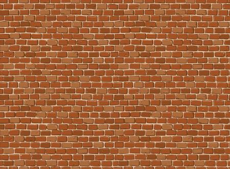 paredes de ladrillos: Fondo inconsútil de la pared de ladrillo antiguo