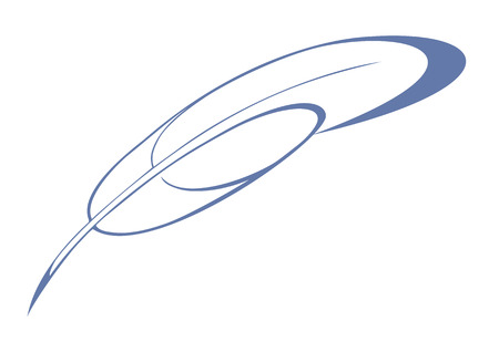 Calligraphic feather