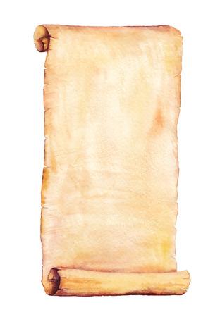 페인트 수채화 오래 된 종이입니다. 귀하의 카드, 전단지 및 초대장을 위해 사용하십시오. 스톡 콘텐츠