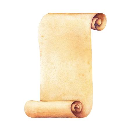 페인트 수채화 오래 된 종이입니다. 벡터 수채화 그림입니다. 귀하의 카드, 전단지 및 초대장을 위해 사용하십시오. 스톡 콘텐츠 - 39265642
