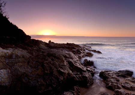 Sunrise on Pacific Ocean, East Coast of Australia