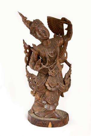 Wooden Bali figurine