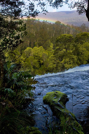Rapids in Tasmania after rain