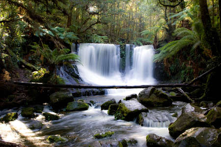 Horseshoe Fall in Tasmania