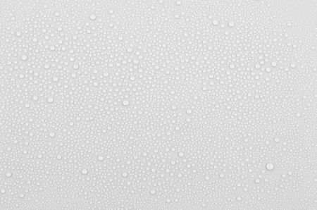 Gray water drops background photo