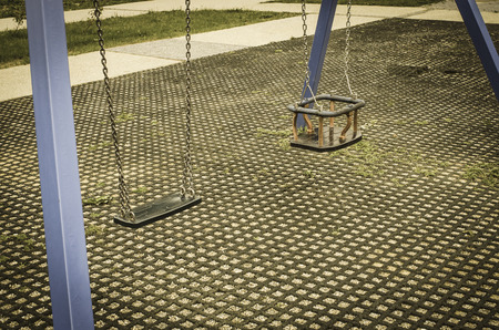 playground equipment: Playground equipment Stock Photo