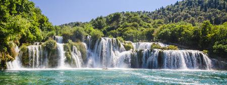 Krka river waterfalls, Dalmatia, Croatia