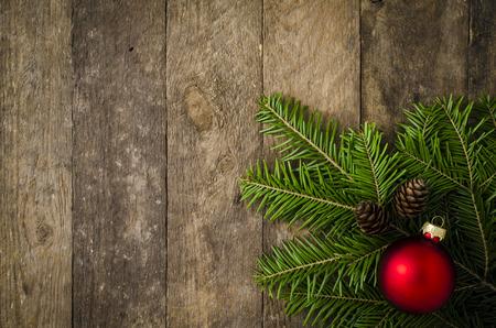 frame wood: christmas background