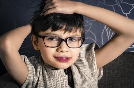 Rett 症候群児の美しい若者の肖像