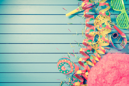 photo of accessories: Colorful party background