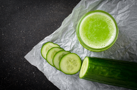 cucumber juice Archivio Fotografico