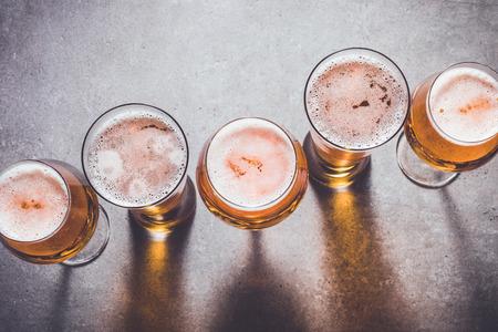 ビールのグラス 写真素材