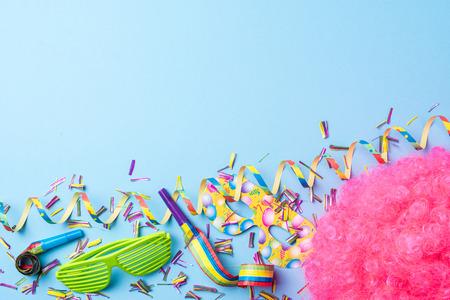 カーニバルの背景 写真素材