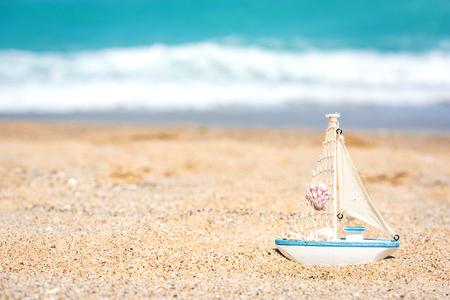 beach background Stock Photo