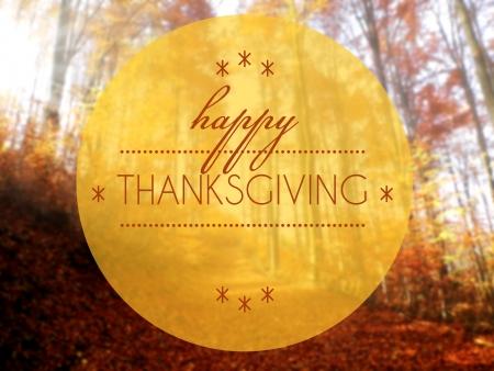 happy thanksgiving: Happy thanksgiving Autumn creative conceptual illustration